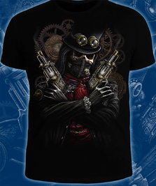 На фото изображено Steampunk Skeleton