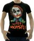 Мужская футболка I am not a monster серая