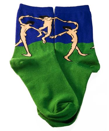 На фото изображено Носки «Танец» - Анри Матисс