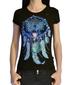 Женская футболка Ловец Снов черная