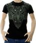 Мужская футболка Сова черная