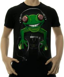 На фото изображено Crazy Frog