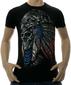 Мужская футболка Шаман черная