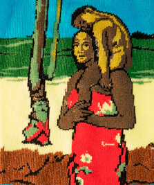 На фото изображено «Аве Мария» - Поль Гоген