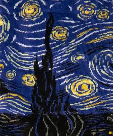 На фото изображено «Звёздная ночь» - Винсент Ван Гог