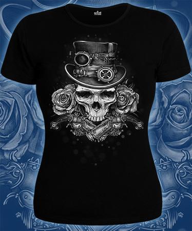 На фото изображено «Steampunk Skull»