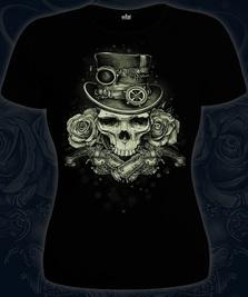 На фото изображено Steampunk Skull