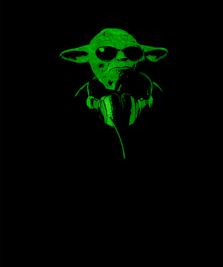 На фото изображено Yoda