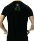 Мужская футболка Crazy Frog черная
