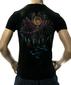 Мужская футболка Mechanical Lotus черная