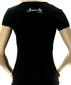 Женская футболка Sweety черная
