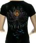 Женская футболка Mechanical Lotus черная