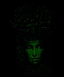 На фото изображено Cosmogony CyberGorgon