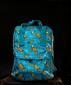 Рюкзак «Лисички» на голубом фоне