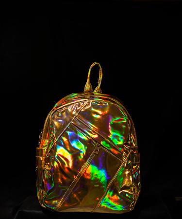 На фото изображено Перламутровая серия рюкзаков