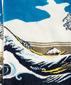 Носки Гравюра «Большая волна в Канагаве» - Кацусика Хокусай