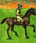 Носки «Скаковые лошади» - Эдгар Дега