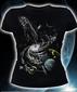 Женская футболка Creation of the universe черная