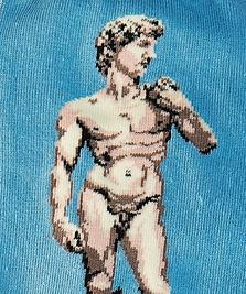 На фото изображено «Давид» - Микеланджело