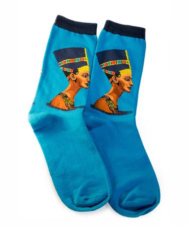 На фото изображено Носки Нефертити