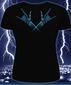 Женская футболка X-Skeleton черная