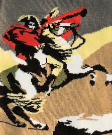 На фото изображено «Наполеон» - Жак Луи Давид